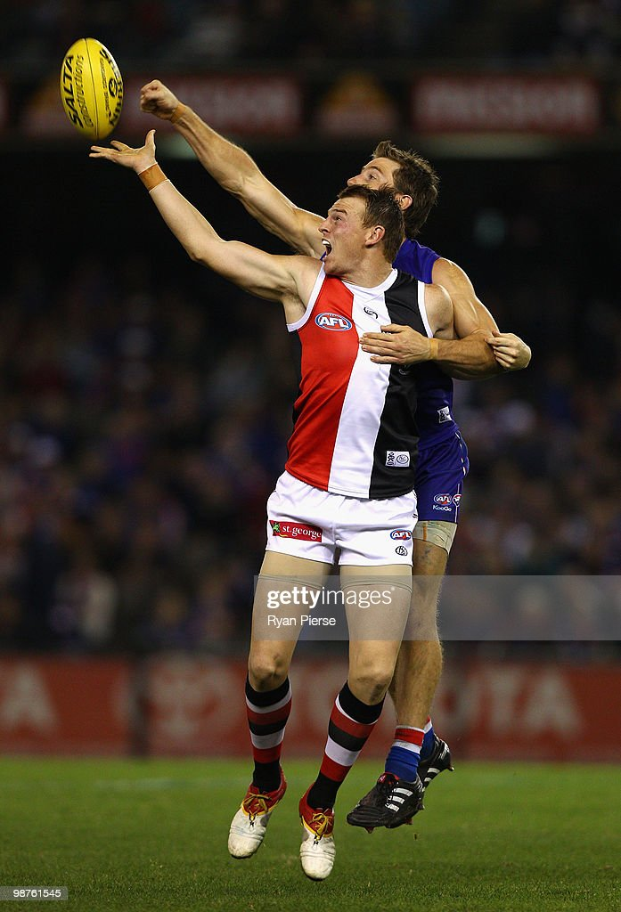 AFL Rd 6 - Bulldogs v Saints