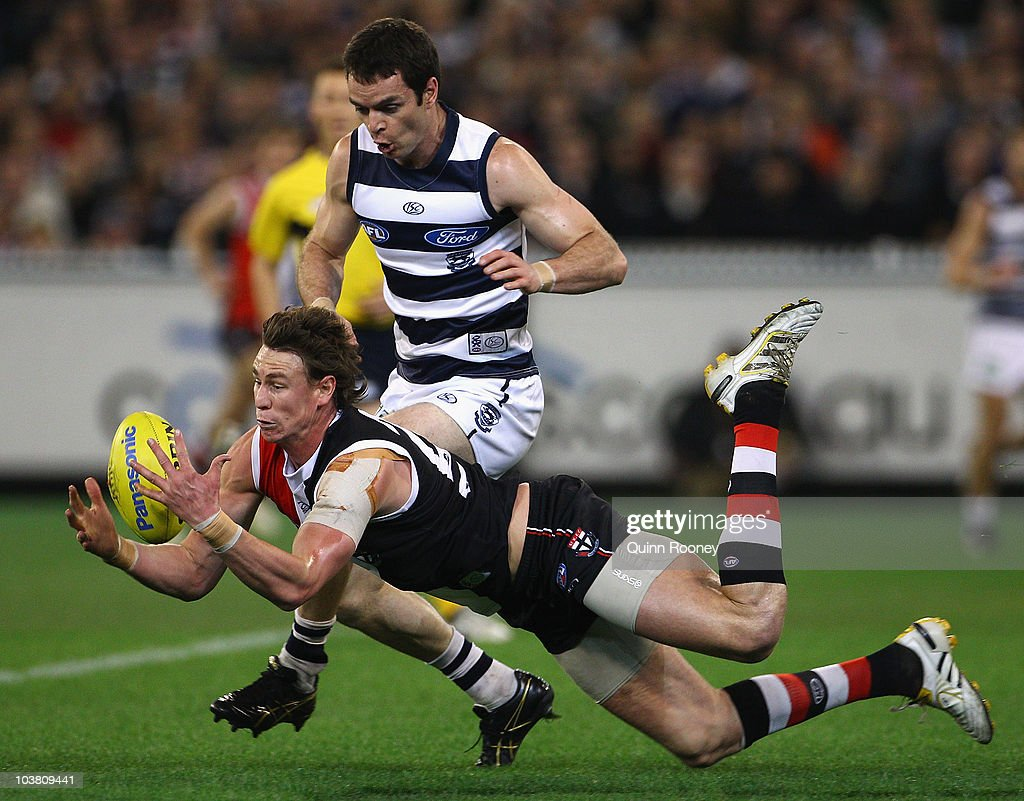 AFL 2nd Qualifying Final - Cats v Saints