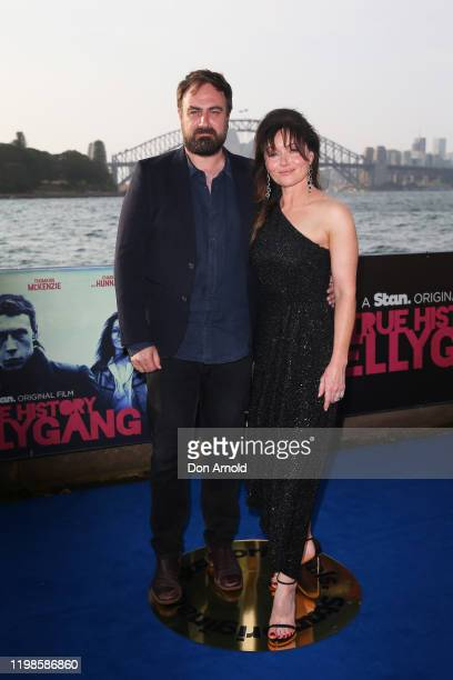 Justin Kurzel and Essie Davis attend a special screening of True History of the Kelly Gang on January 10 2020 in Sydney Australia