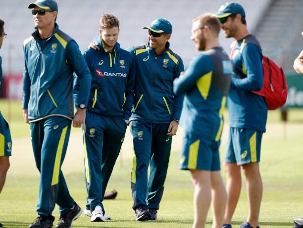 GBR: England & Australia Net Sessions