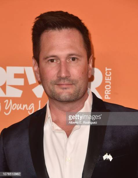 Justin Leach attends The Trevor Project's TrevorLIVE Gala at The Beverly Hilton Hotel on December 02 2018 in Beverly Hills California