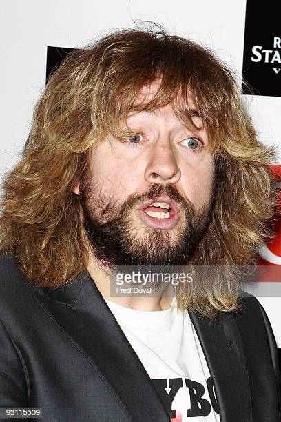 Justin Lee Collins arrives at the Q Awards 2009 at the Grosvenor House on October 26 2009 in London England