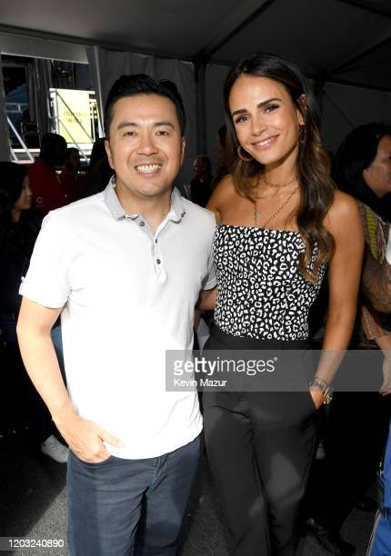 Justin Lin and Jordana Brewster attend Universal Pictures Presents The Road To F9 Concert and Trailer Drop on January 31 2020 in Miami Florida