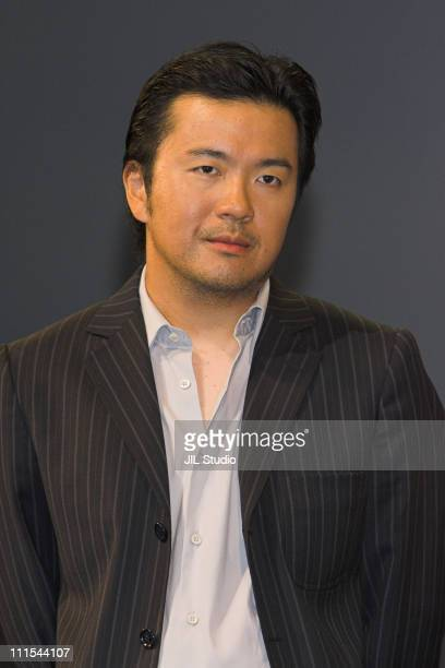 Justin Lin during 'The Fast and the Furious Tokyo Drift' Tokyo Premiere Stage Greeting at Tokyo International Forum in Tokyo Japan