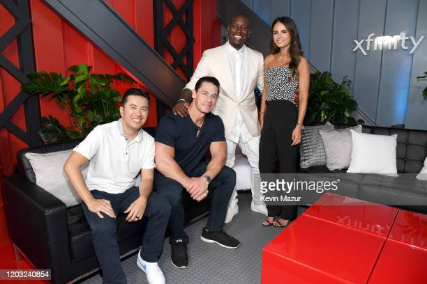 Justin Lin John Cena Tyrese Gibson and Jordana Brewster attend Universal Pictures Presents The Road To F9 Concert and Trailer Drop on January 31 2020...