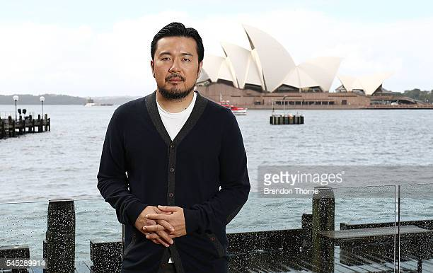 Justin Lin poses during a photo call for Star Trek Beyond on July 7 2016 in Sydney Australia