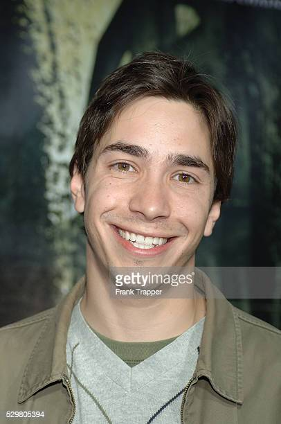 Justin Long arrives at the premiere of 'The Amityville Horror' at the Arclight Cinerama Dome