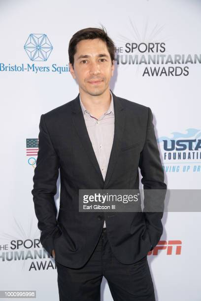Justin Long attends the 4th Annual Sports Humanitarian Awards at The Novo by Microsoft on July 17 2018 in Los Angeles California