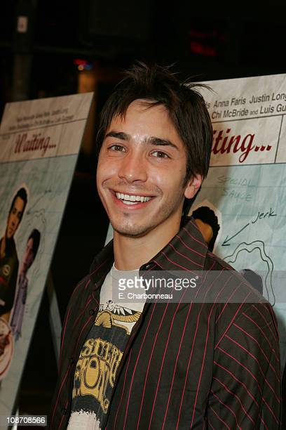 Justin Long during Lions Gate Films 'Waiting' Los Angeles Premiere and After Party at Mann's bruin Theater/ Jerry's Famous Deli in Westwood...