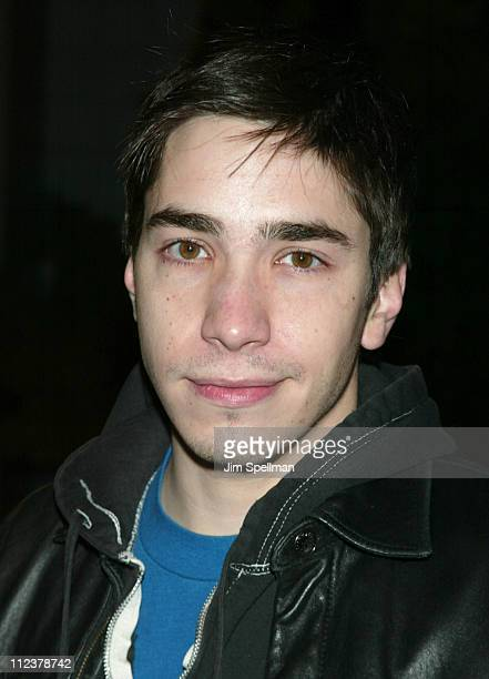 Justin Long during Special New York Screening of 'Phone Booth' Hosted by Interview Outside Arrivals at Clearview Chelsea West Theater in New York...