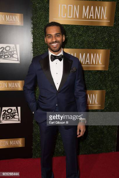 Justin Mabrie attends ICON MANN's 6th Annual PreOscar Dinner at the Beverly Wilshire Four Seasons Hotel on February 27 2018 in Beverly Hills...