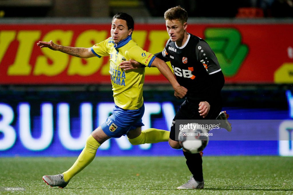 Justin Mathieu Of Sc Cambuur Marco Tol Of Fc Volendam During The News Photo Getty Images