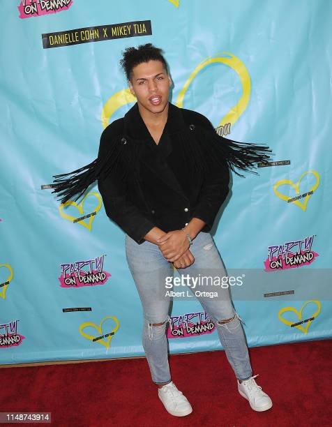 Justin McWashington attends the Release Party For Dani Cohn And Mikey Tua's Song Somebody Like You held at The Industry Loft on June 8 2019 in Los...
