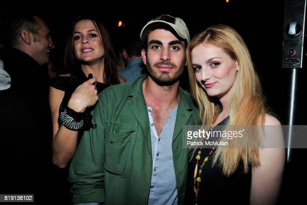Justin Melnick Lydia Hearst attend NICOLAS BERGGRUEN's 2010 Annual Party at the Chateau Marmont on March 3 2010 in West Hollywood California