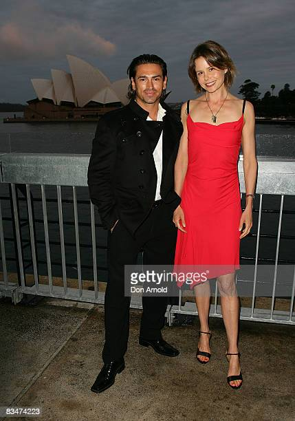 Justin Melvey and Antonia Kidman attend the 2009 MCN Upfront party celebrating upcoming programming available on FOXTEL via the Multi Channel Network...