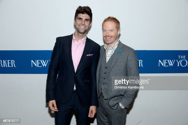 Justin Mikita and Actor Jesse Tyler Ferguson attend the White House Correspondents' Dinner Weekend PreParty hosted by The New Yorker's David Remnick...