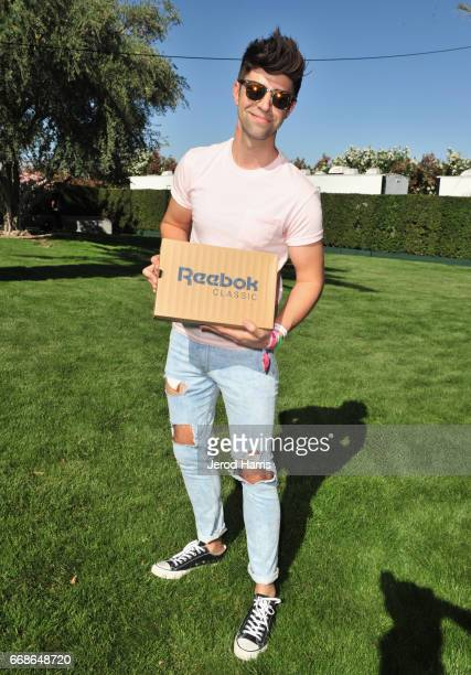 Justin Mikita attends The Hyde Away hosted by Republic Records SBE presented by Hudson and bareMinerals during Coachella on April 14 2017 in Thermal...