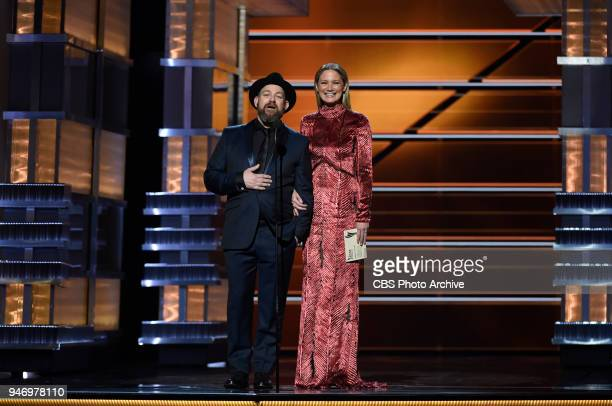 Justin Miller and Jennifer Nettles present at the 53RD ACADEMY OF COUNTRY MUSIC AWARDS, live from the MGM Grand Garden Arena in Las Vegas Sunday,...