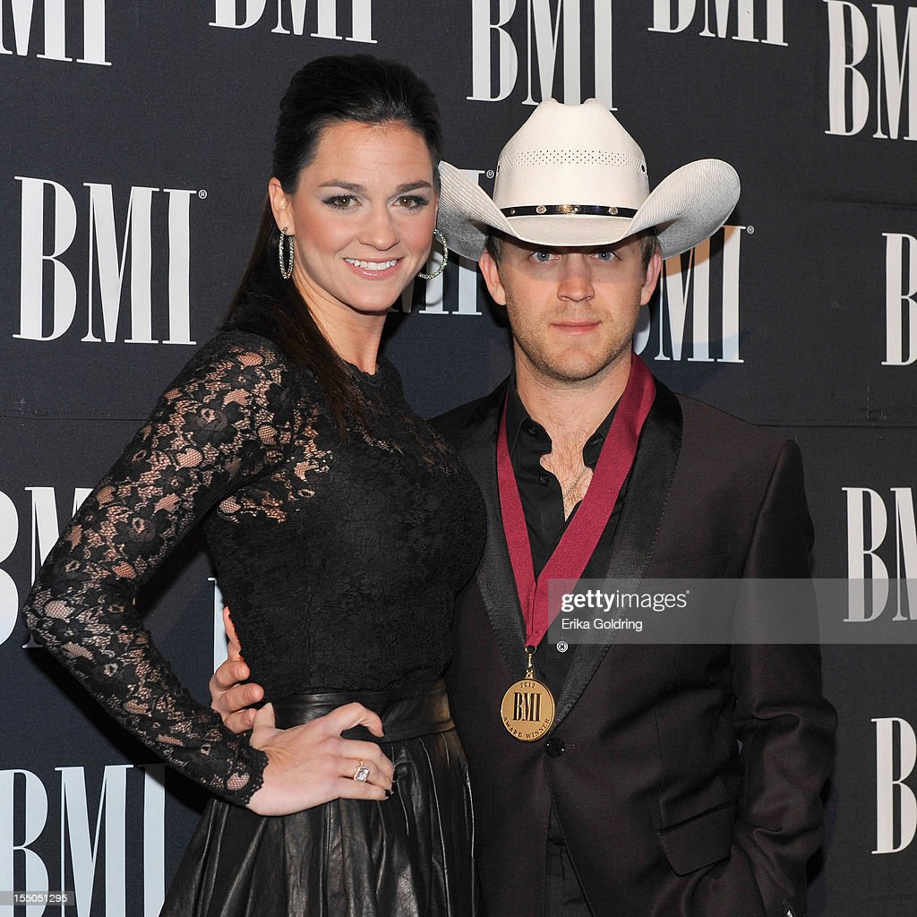Justin Moore attends the 60th annual BMI Country awards at BMI on October 30, 2012 in Nashville, Tennessee.