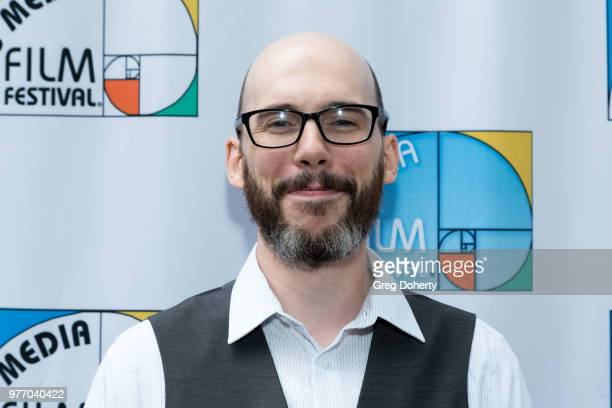 Justin Moran attends the 9th Annual New Media Film Festival at James Bridges Theater on June 16 2018 in Los Angeles California