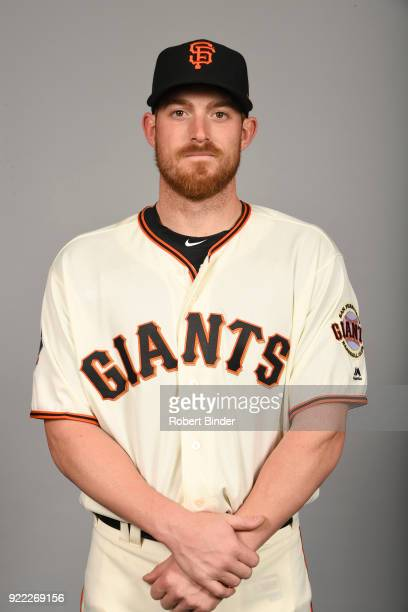 Justin O'Conner of the San Francisco Giants poses during Photo Day on Tuesday February 20 2018 at Scottsdale Stadium in Scottsdale Arizona