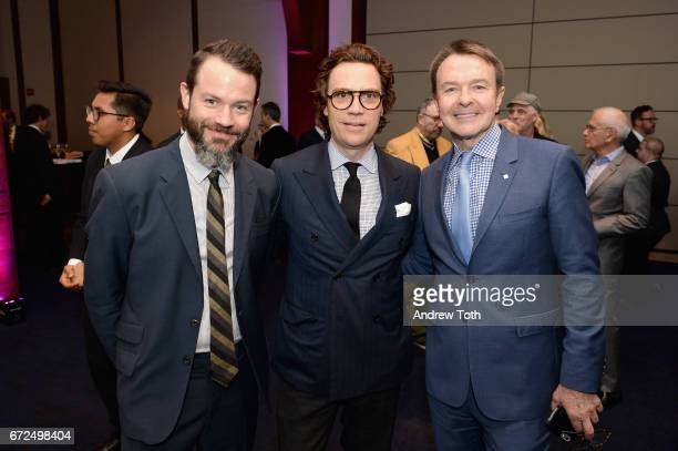 Justin O'Neil of Esquire Esquire Editor and Chief Jay Fielden and Publishing Director Hearst Magazines Michael Clinton attend The International...