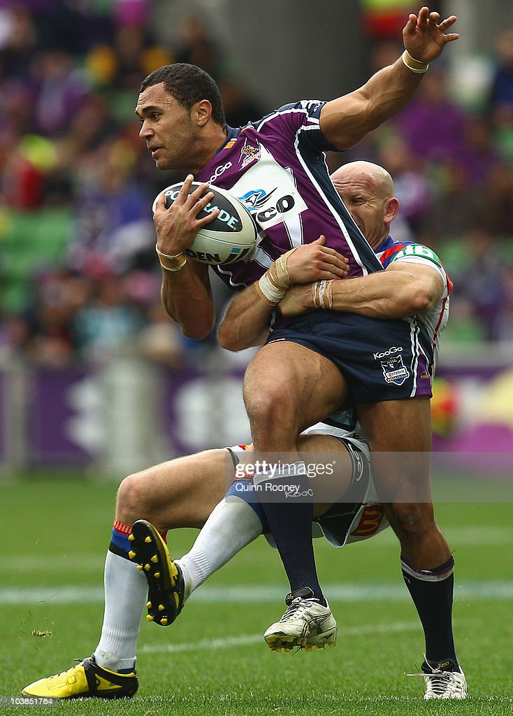 NRL Rd 26 - Storm v Knights : News Photo