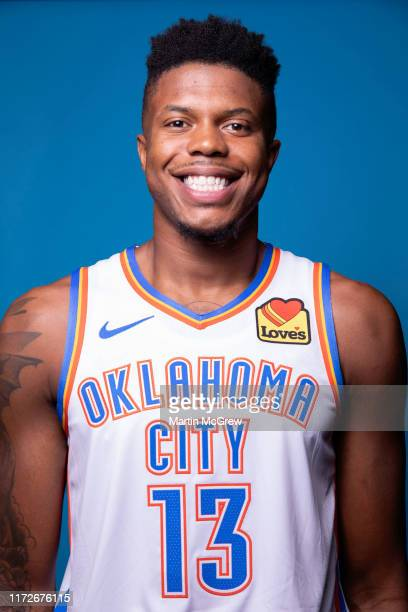 Justin Patton of the Oklahoma City Thunder poses for a head shot during media day on September 30, 2019 at Chesapeake Energy Arena in Oklahoma City,...