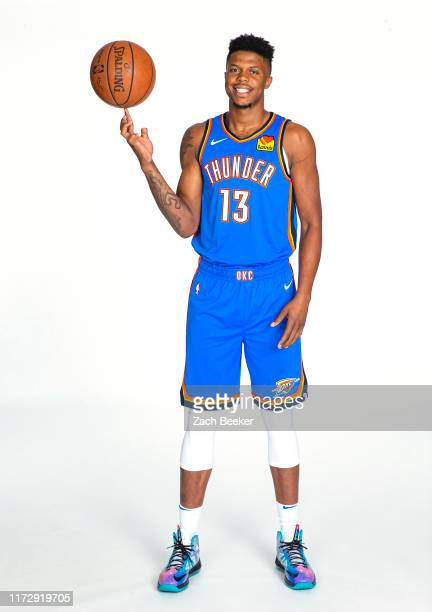 Justin Patton of the Oklahoma City Thunder poses for a portrait during media day on September 30, 2019 at Chesapeake Energy Arena in Oklahoma City,...