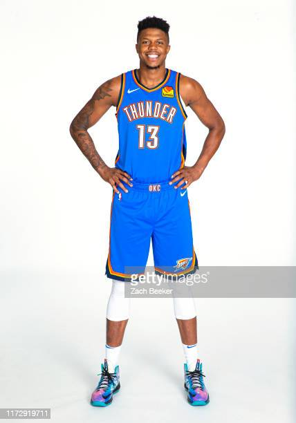 Justin Patton of the Oklahoma City Thunder poses for a portrait during media day on September 30 2019 at Chesapeake Energy Arena in Oklahoma City...