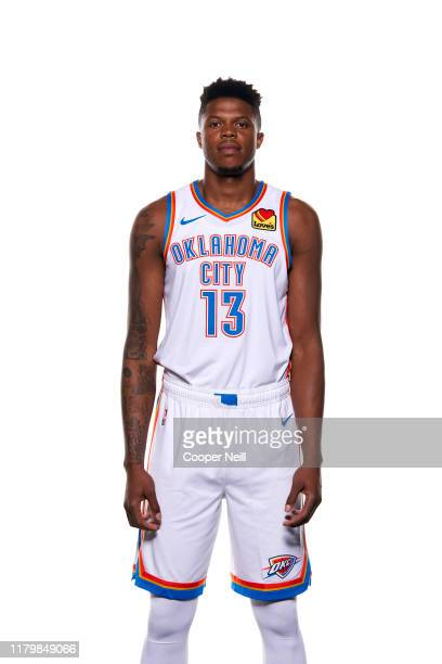 Justin Patton of the Oklahoma City Thunder poses for a portrait during media day at Chesapeake Energy Arena on September 30, 2019 in Oklahoma City,...