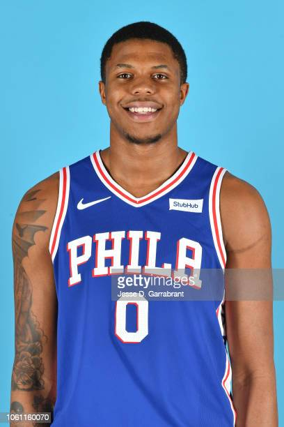 Justin Patton of the Philadelphia 76ers poses for a head shot at the 76ers Training Complex in Camden New Jersey on November 13 2018 NOTE TO USER...