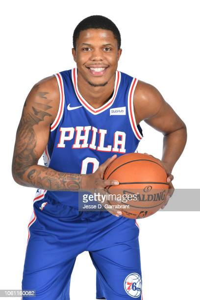 Justin Patton of the Philadelphia 76ers poses for a portrait at the 76ers Training Complex in Camden New Jersey on November 13 2018 NOTE TO USER User...