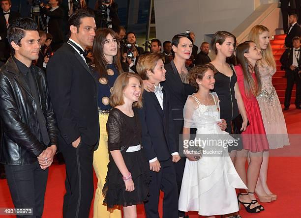 Justin Pearson Gabriel Garko Charlotte Gainsbourg director Asia Argento Andrea Pittorino and Giulia Salerno attends the 'Misunderstood' premiere...