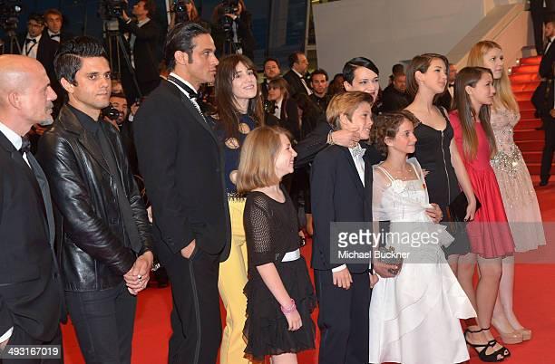 Justin Pearson Gabriel Garko Charlotte Gainsbourg director Asia Argento Andrea Pittorino and Giulia Salerno and cast attend the 'Misunderstood'...