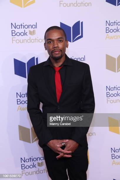 Justin Phillip Reed attends the 69th Annual National Book Awards at Cipriani Wall Street on November 14 2018 in New York City