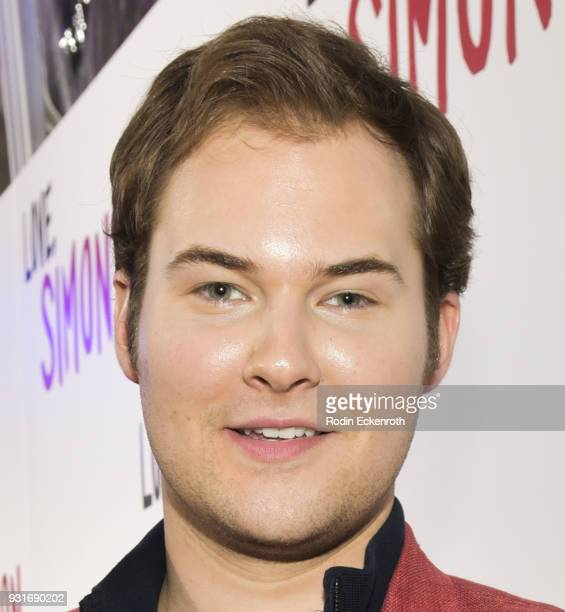 Justin Prentice attends a special screening of 20th Century Fox's 'Love Simon' at Westfield Century City on March 13 2018 in Los Angeles California