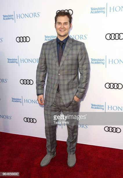 Justin Prentice attends the 11th Annual Television Academy Honors at NeueHouse Hollywood on May 31 2018 in Los Angeles California