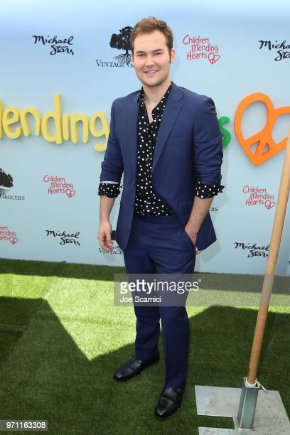 Justin Prentice attends the Children Mending Hearts' 10th Annual Empathy Rocks Fundraiser at Private Residence on June 10 2018 in Bel Air California