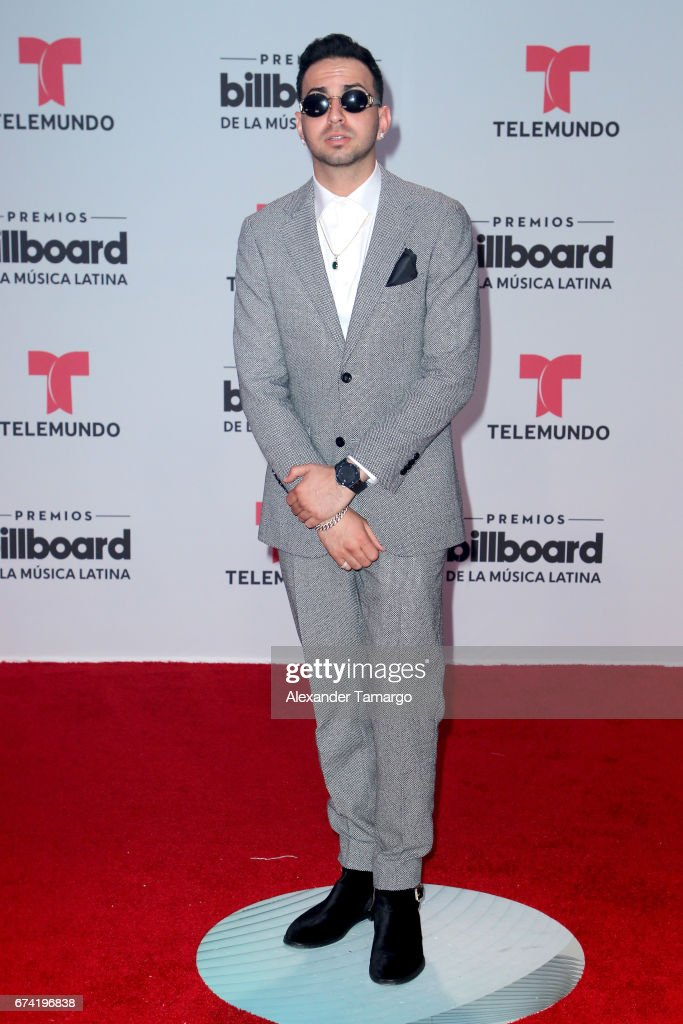 Justin Quiles attends the Billboard Latin Music Awards at Watsco Center on April 27, 2017 in Coral Gables, Florida.