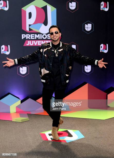 Justin Quiles attends the Univision's 'Premios Juventud' 2017 Celebrates The Hottest Musical Artists And Young Latinos ChangeMakers at Watsco Center...