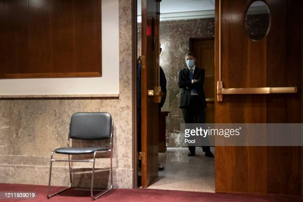 Justin Reed Walker arrives to testify before the Senate Judiciary Committee for his nomination hearing to be United States Circuit Judge for the...