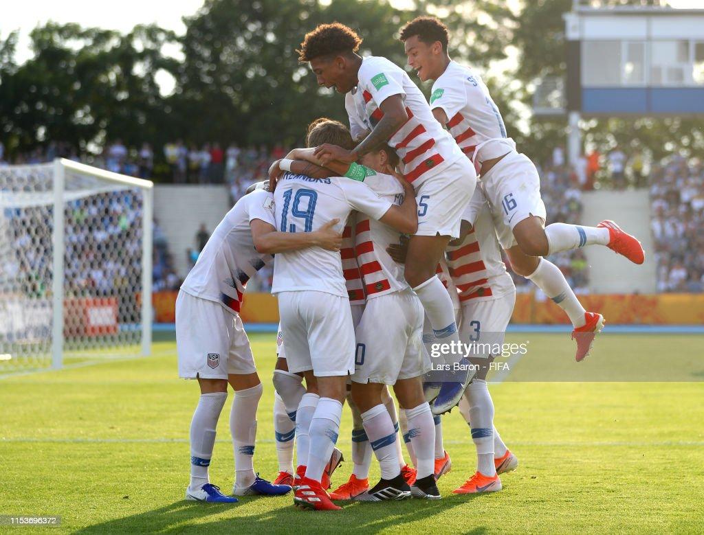 France v USA: Round of 16  - 2019 FIFA U-20 World Cup : ニュース写真