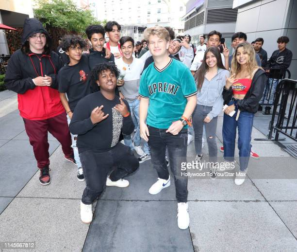 Justin Roberts is seen on May 22 2019 in Los Angeles