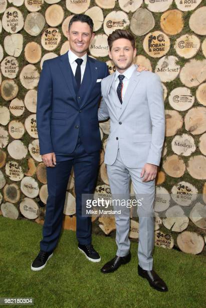 Justin Rose and Niall Horan attend the Horan And Rose Charity Event held at The Grove on June 23 2018 in Watford England