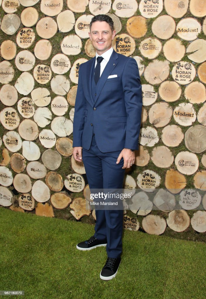 Justin Rose attends the Horan And Rose Charity Event held at The Grove on June 23, 2018 in Watford, England.