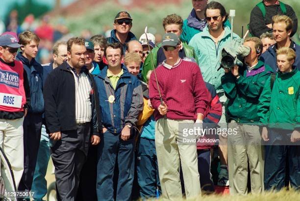 Justin Rose during the 127th British Open Golf at Royal Birkdale GC in Southport 16th19th July 1998