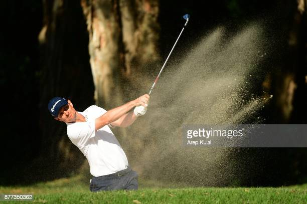 Justin Rose of England pictured during the Pro Am tournament ahead of UBS Hong Kong Open 2017 at The Hong Kong Golf Club on November 22 2017 in Hong...