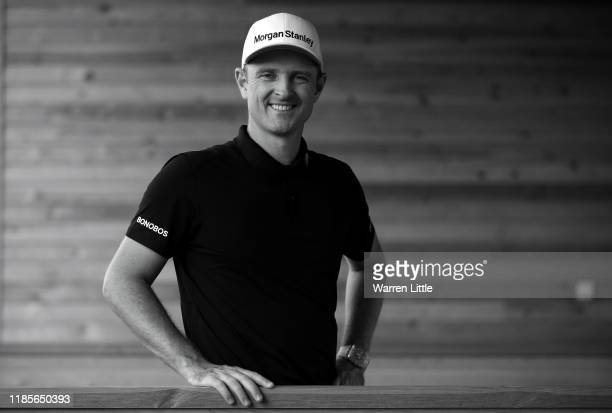 Justin Rose of England poses for a portrait ahead of the Turkish Airlines Open at The Montgomerie Maxx Royal on November 05 2019 in Antalya Turkey