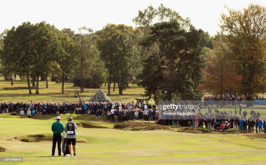 Sky Sports British Masters - Day Two : News Photo
